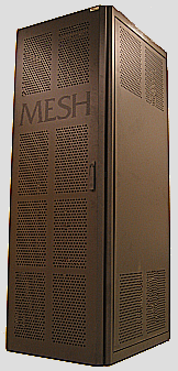 A rack cluster from MESH-Technologies